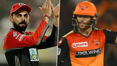 SRH vs RCB Dream11 IPL 2020: Virat Kohli, David Warner and Other Players to Watch Out For in Indian Premier League Season 13 Match 3