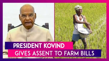 President Ram Nath Kovind Gives Assent To The Three Controversial Farm Bills Amid Intensifying Protests; Congress & NCP Says Will Not Implement In Maharashtra