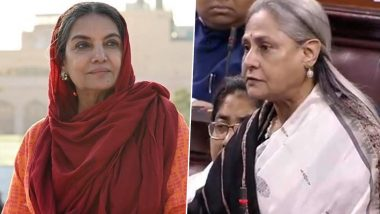 Shabana Azmi on Jaya Bachchan's Parliament Speech: It Was a Much-Needed Statement, Kudos to Her!