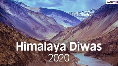 Happy Himalaya Diwas 2020: Beautiful Pictures of the Himalayan Mountain Ranges Which Show Why These Stunning Landscapes Need to be Conserved