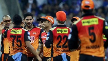 How to Watch SRH vs KXIP, IPL 2020 Live Streaming Online in India? Get Free Live Telecast Sunrisers Hyderabad vs Kings XI Punjab Dream11 Indian Premier League 13 Cricket Match Score Updates on TV