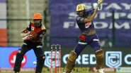 KKR vs SRH Stat Highlights IPL 2020: Shubman Gill Shines As Kolkata Knight Riders Beat Sunrisers Hyderabad by Seven Wickets