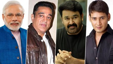 PM Narendra Modi 70th Birthday: Kamal Haasan, Mohanlal, Mahesh Babu Extend Heartwarming Wishes To The Hon'ble Prime Minister (View Posts)