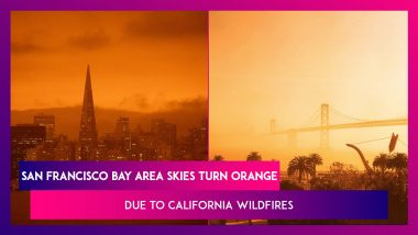 California Wildfires Turn San Francisco Bay Area Skies Orange & Red As Thick Smoke Blocks Sun; 'Looks Like A Scene From Mars' Says Residents