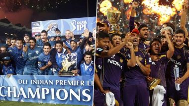 IPL 2020 in UAE: List of Teams That Won Indian Premier League Trophy When T20 Competition Was Played Outside India