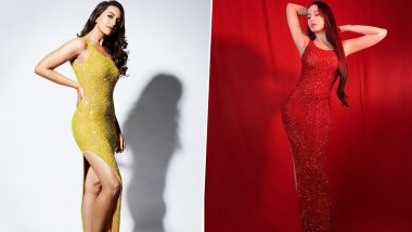 Fashion Face-Off: Nora Fatehi or Sonakshi Sinha - Who Nailed this Yousef Aljasmi Design Better?