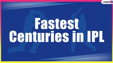 Fastest Centuries in IPL History: Chris Gayle, Yusuf Pathan, David Miller and Other Batsmen Who Dominate the All-Time List of Quick Hundreds