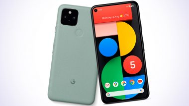 Google Pixel 5, Pixel 4a 5G Launch LIVE News Updates