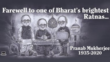 Pranab Mukherjee No More, Amul's Topical Ad Remarkably Depicts the Illustrious Political Career of the Stalwart and Statesman (View Pic)