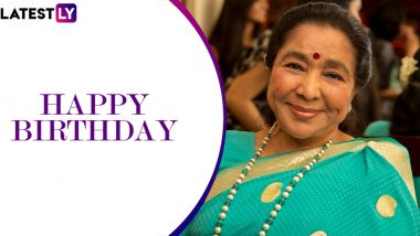 Asha Bhosle Birthday: Aao Huzoor Tumko, Parde Mein Rehne Do – Evergreen  Songs Sung By Hindi Cinema's Legendary Singer! | 🎥 LatestLY