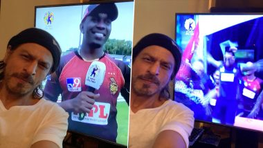 Shah Rukh Khan Is in Celebratory Mode as His Team Trinbago Knight Riders Wins CPL 2020 (Read Tweets)