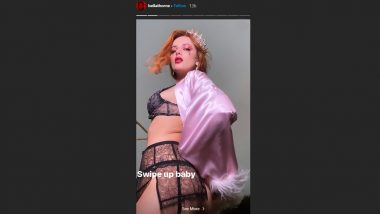 Pornhub Director Bella Thorne Entices Fans in a Naked Black Lingerie to Check Her out on the XXX Platform, OnlyFans After Major Controversies