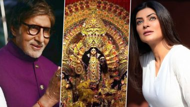 Shubho Mahalaya! Amitabh Bachchan, Sushmita Sen and Other Celebs Wish Fans On Auspicious Occasion (View Posts)