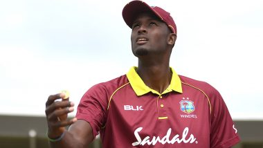 Sunrisers Hyderabad Welcomes Jason Holder Who Replaces Injured Mitchell Marsh Ahead of KKR vs SRH, IPL 2020 Match (View Post)