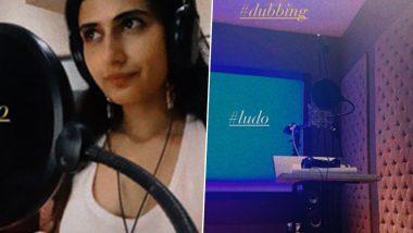 Ludo: Fatima Sana Sheikh Resumes Work, Starts Dubbing For Anurag Basu's Next (See Pics)