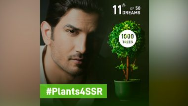 #Plants4SSR: Shweta Singh Kirti Claims More than One Lakh Trees Planted Across the Globe in the Memory of the Late Actor (Watch Video)