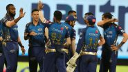 MI vs KKR Highlights of VIVO IPL 2021: Venkatesh Iyer & Rahul Tripathi Take Kolkata Knight Riders to a Thumping 7-Wicket Win Against Mumbai Indians