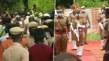RIP SP Balasubrahmanyam: Late Legendary Singer Laid to Rest With Police Honours (View Pics)
