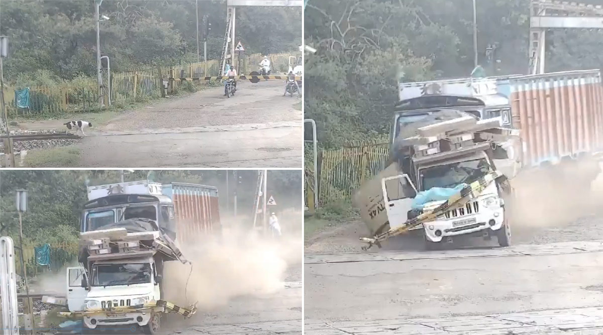accident in madhya pradesh, railway crossing accident