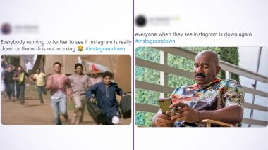 Instagram Down Funny Memes and Jokes Take over as Netizens Rush to Twitter to Vent Their Frustration in the Most Hilarious Way!