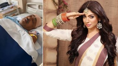Akanksha Puri's Father Undergoes A Brain Surgery; Actress Says 'He Is Fighting It With A Smile' (View Post)