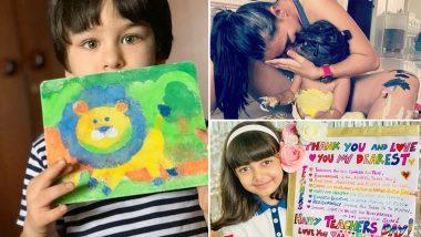 Aishwarya Rai Bachchan, Kareena Kapoor Khan, Neha Dhupia - How B-town Mommies are Flaunting the Artistic Side of their Babies (Views Pics)