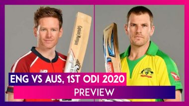 ENG vs AUS, 1st ODI 2020 Preview & Playing XIs: England, Australia Face-Off in One-Day Series