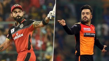 SRH vs RCB Dream11 IPL 2020: Virat Kohli vs Rashid Khan & Other Exciting Mini-Battles to Watch Out for in Indian Premier League Match 3