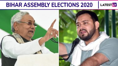 Bihar Assembly Elections 2020 ABP News-C Voter Opinion Poll: JDU-BJP+ Predicted to Win 135-159 Seats, RJD-Congress-Left 77-98