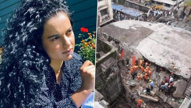 Bhiwandi Building Crash: Kangana Ranaut Slams Shiv Sena and BMC for Their Negligence As More than 40 Die Due to the Tragic Incident (Read Tweet)
