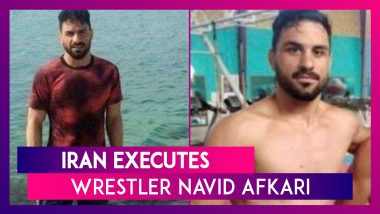 Navid Afkari Executed By Iran, International Olympic Committee (IOC) Expresses Shock Over Capital Punishment Meted Out To The Young Wrestler