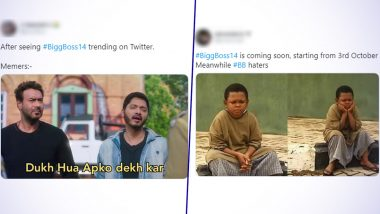 Bigg Boss 14 Is Here! Funny Memes and Jokes About Salman Khan's Drama-Filled Reality TV Show Have Taken Over Twitter; Check Out the Best Ones