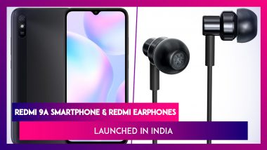Redmi 9A Smartphone & Redmi Earphones Launched in India; Prices, Features, Variants & Specs