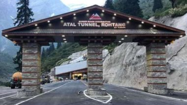 Atal Tunnel Makes Headlines For Litter, Eve-Teasing; Incidents of Crime Reported at Rohtang Tunnel Weeks After It Was Inaugurated