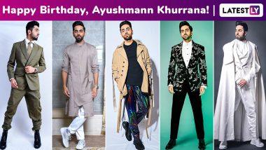 Ayushmann Khurrana Birthday Special: The Modern Gentleman With an Unparalleled Sartorial Charisma!