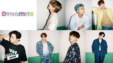 BTS' 2021 Lotte Duty Free Family Concert Performance on Dynamite Pics and Videos Go Viral! ARMY is in Love