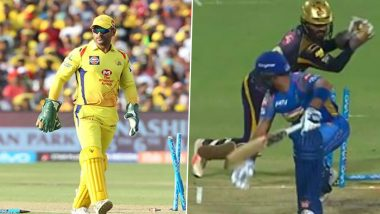 Best Stumpings in IPL History: From MS Dhoni to Dinesh Karthik, A Look at Some Lightning-Fast Stumpings by Wicket-Keepers in Indian Premier League (Watch Videos)