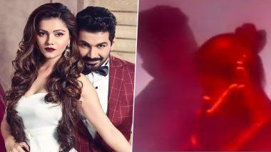 Bigg Boss 14: Rubina Dilaik and Husband Abhinav Shukla's Phonebooth Romance From the Grand Premiere Night Looks Sizzling Hot (Watch Video)
