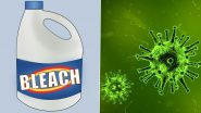 'Miracle Cure' for COVID-19? Industrial Bleach Sold on Amazon to Drink as 'Miracle Mineral Solution' for Coronavirus Despite Warnings of Life-Threatening Danger