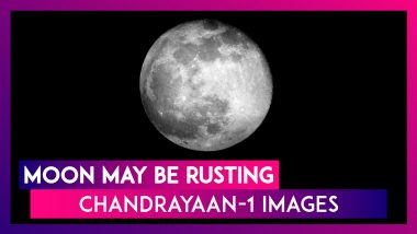 Moon May Be Rusting Along Poles Shows ISRO's Chandrayaan-1 Images; Reason Could Be Earth's Atmosphere?
