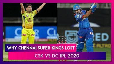 Chennai vs Delhi IPL 2020: 3 Reasons Why Chennai Lost To Delhi | Highlights