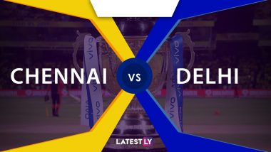 CSK vs DC Live Score Updates of VIVO IPL 2021: Delhi Capitals Win Toss, Elect To Bowl