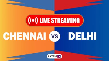 How To Watch CSK vs DC IPL 2021 Live Streaming Online in India? Get Free Live Telecast Chennai Super Kings vs Delhi Capitals VIVO Indian Premier League 14 Cricket Match Score Updates on TV