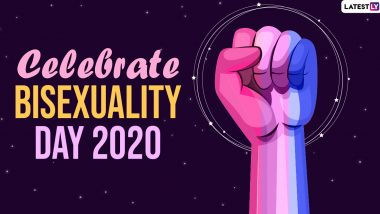 Celebrate Bisexuality Day 2020 Wishes: WhatsApp Stickers, Quotes, Facebook Status Pictures & Bi Visibility Day Images to Raise Awareness on the Community