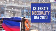 Celebrate Bisexuality Day 2020 Wishes and Images Trend Online: Twitterati Bring Attention to the Bisexual Community, Shares Pictures of Bisexual Pride Flag