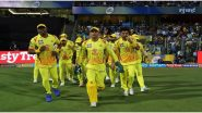 MS Dhoni, Ravindra Jadeja, Shane Watson & Other Chennai Super Kings Players Chill Out at Shoot Session Ahead of RR vs CSK, IPL 2020 (Watch Video)