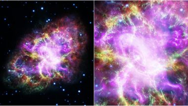 Crab Supernova Looks Simply Gorgeous! NASA Shares Photos of 'Most Famous Objects' in Sky