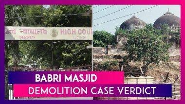 Babri Masjid Demolition Case Verdict: All 32 Accused Including LK Advani, Murli Manohar Joshi & Uma Bharti Acquitted