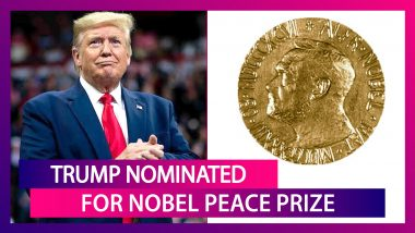 Donald Trump Nominated For Nobel Peace Prize By Norwegian Far-Right MP, US President Says 'Thank You' On Twitter