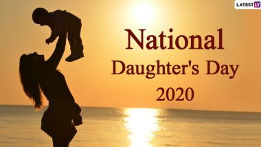 Daughter's Day 2020 Dates From India to the US to Canada! Know When Daughters Day is Celebrated in Countries Around the World